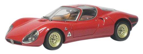 1/43 アルファロメオ Tipo33/2 ストラダーレ 1967(レッド) CDG059