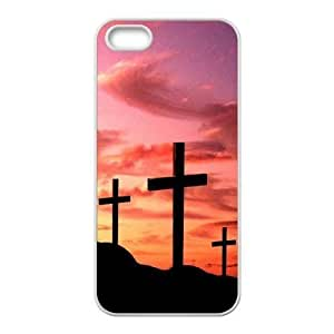 Cool Painting Cross Unique Fashion Printing Phone Case for Iphone 5,5S,personalized cover case case549063