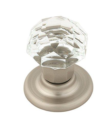 Amerock Crystal (Amerock E5247CSG Allison Value 1-9/16 in (40 mm) Diameter Clear/Satin Nickel Cabinet Knob)