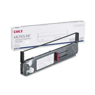 Oki Black Ribbon Cartridge - Dot Matrix - 5 Million Characters - Black - 1 -  Okidata, 52103601