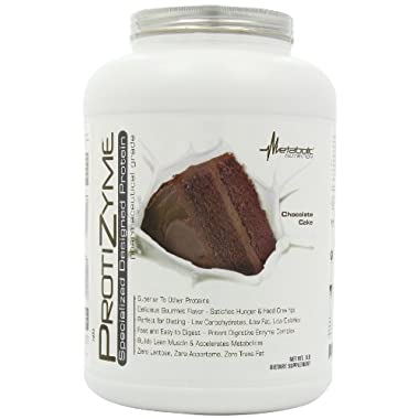 Metabolic Nutrition Protizyme, Chocolate cake, 5 Pound