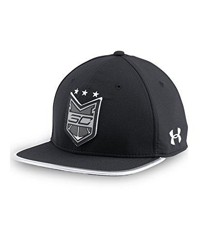Under Armour Men's SC30 Crest Snap Back Cap One Size Black