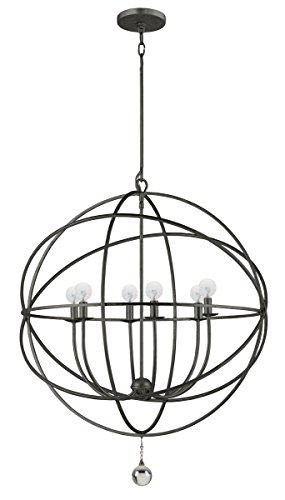 - 9228-EB Solaris 6LT Pendant, English Bronze Finish