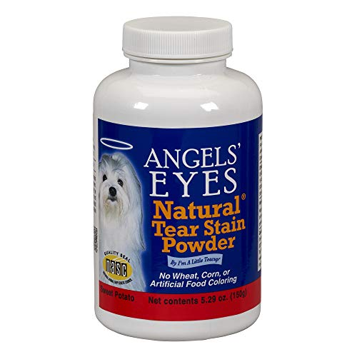 (ANGELS's Eyes Natural Tear Stain Eliminator Remover, Vegetarian Recipe with Sweet Potato, 150-Gram)