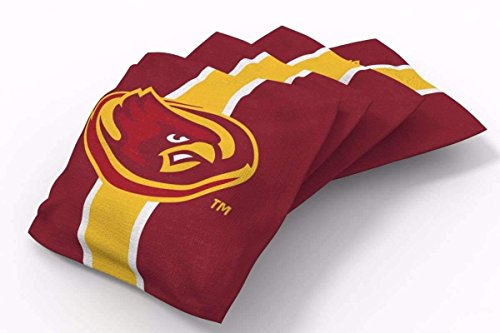 PROLINE 6x6 NCAA College Iowa State Cyclones Cornhole Bean Bags - Stripe Design (A) Iowa Bean Bag