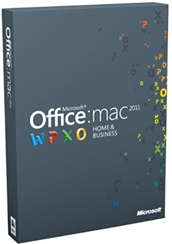 Office Mac Home and Business 2011 - (1 User/2 Installs) (Microsoft Office Business 2011)