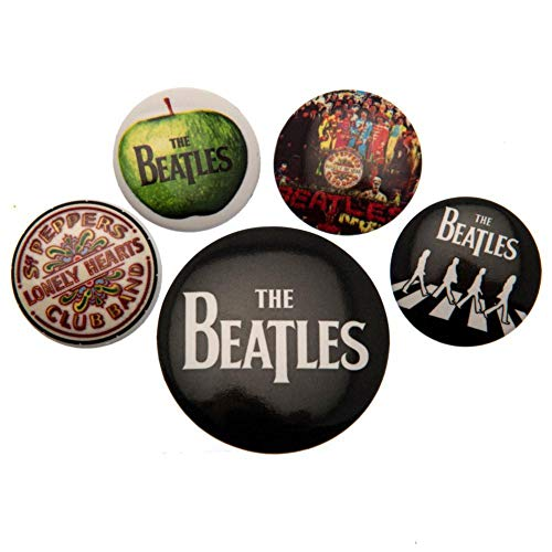 The Beatles Button Badge Set (One Size) (Multicolored)