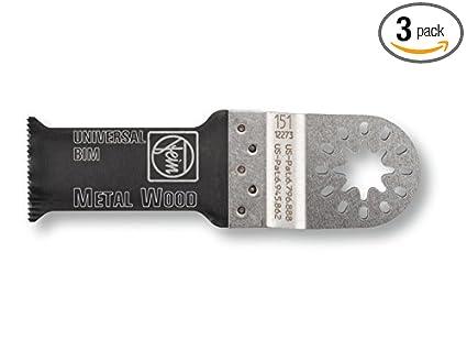 Fein 6-35-02-151-12-0 1-1/8-inch Universal E-cut Blade, 3