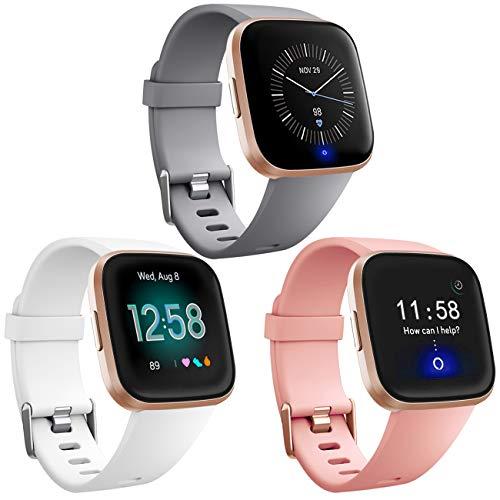 Mallas Reloj Fitbit Versa Y Fitbit Versa Lite (3 Un.) L
