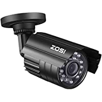 ZOSI 720P HD-TVI 1280TVL 1.0MP Hi-Resolution CCTV Camera Home Security System 65ft Day/Night Vision Vandalproof Waterproof For 720P/1080N/1080P HD-TVI DVR systems