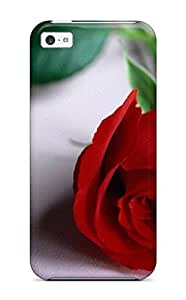 Cool Rose Flower Case Compatible With Iphone 5c Hot Protection Case