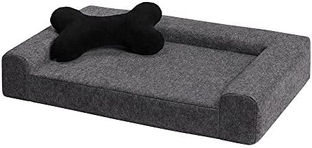 MYANIMALY Simply pet Bed, Lightweight, Soft, Secure Product for Both Dogs and Cats, a Versatile seat Made of Felt for Small and Larger Pets, Anti-allergenic and Non-Slip, M 31 x 19 x 6