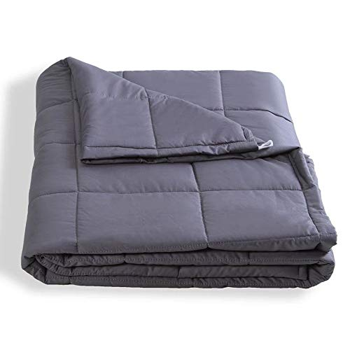 Cheap Dako Living Upgraded Premium Weighted Blanket for Adults Heavy Blanket for Relax and Sleeping Better (10lbs) Black Friday & Cyber Monday 2019