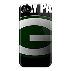 Excellent Hard Phone Cover For Iphone 4/4s (EAw5535hnLD) Customized High Resolution Green Bay Packers Image