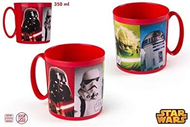 Taza microondas Star Wars (350 ml): Amazon.es: Hogar