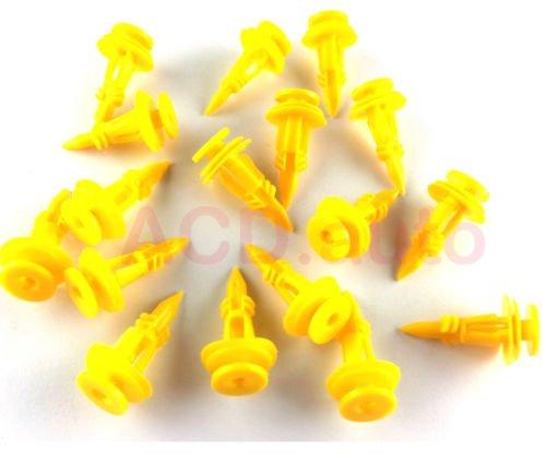 ACD.Clip 6502991 30 x nylon Tail clip porta pannello