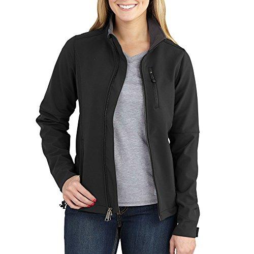 Jacket Soft Carhartt (Carhartt Women's Denwood Softshell Jacket, Black, X-Large)