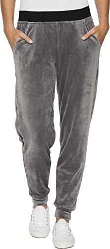 HUE Women's Velour Track Pant, Castlerock, Extra (Velour Track Pant)
