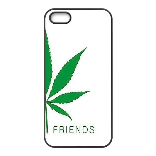 Beste Freunde 4 iPhone 5 5s Handy Fall hülle schwarz T1P3JBCRAU