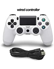 COUYY Wired-Controller / PS4 Konsole mit Kabel für PS4 Steuerung, Playstation Dualshock 4 Gamepad PS3 Multi Farb