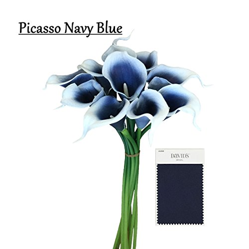 Navy Blue Flowers for Wedding: Amazon.com