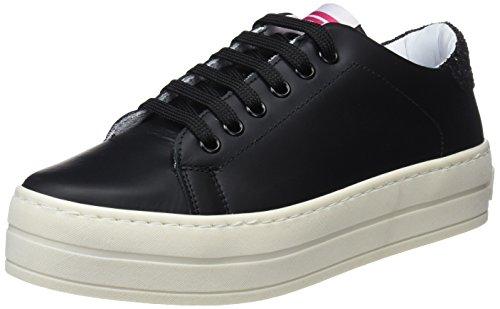 Fornarina Black Nero Maxi Sneaker 5a0 Donna rqwr8xp