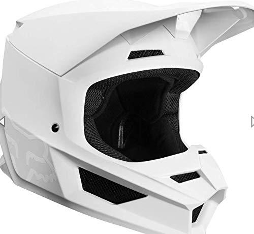 2019 Fox V1 MATTE Motocross Helmet WHITE ADULT Small 55-56cm Fox Racing