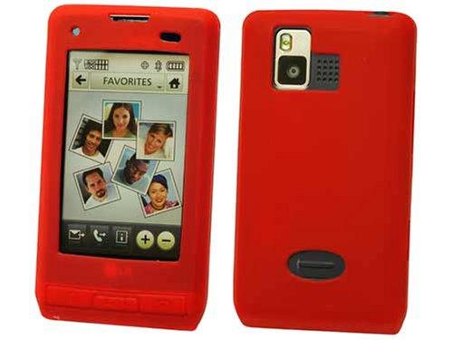 LG VX9700 Dare Red Jelly Silicone Case (Lg Dare Vx9700 compare prices)