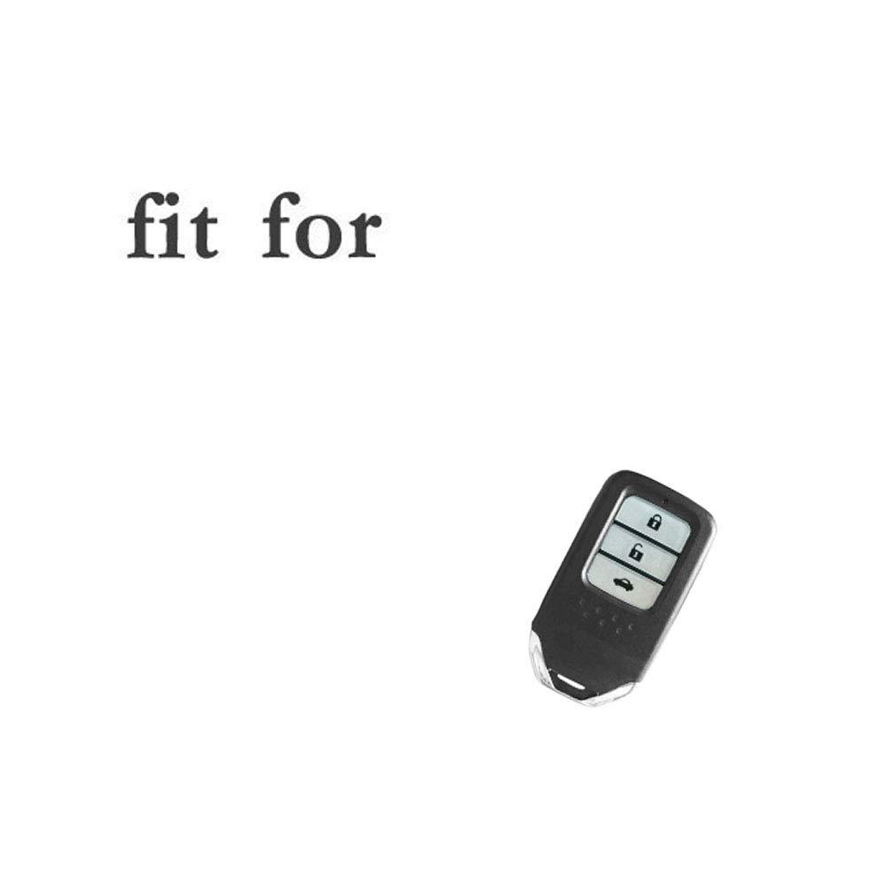 SEGADEN Silicone Cover Protector Case Skin Jacket fit for HONDA 3 Button Smart Remote Key Fob CV4209 Deep Blue