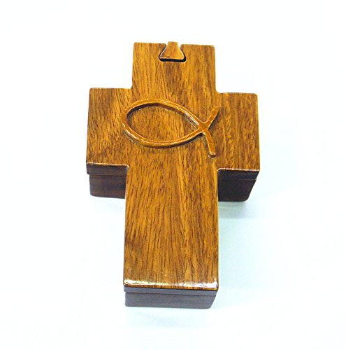Cross Jewelry Puzzle Box by HawaiiUWT