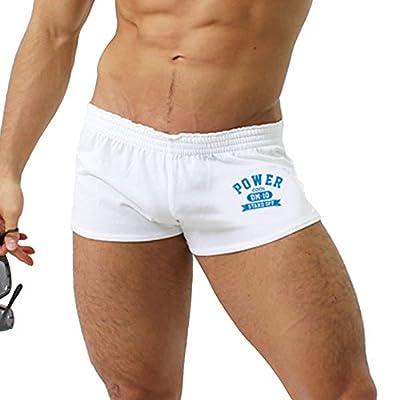 D.M Men's Underwear Boxer Trunks Sexy Low Rise Cut Fashion Sports Style