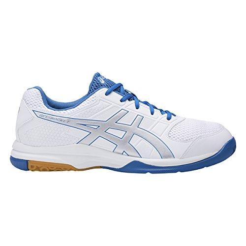 Asics Gel-Rocket 8, Zapatos de Voleibol para Hombre Azul