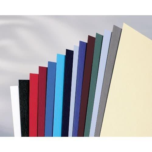 dunkelgrau LeatherGrain Umschlagmaterial A4 100 St/ück