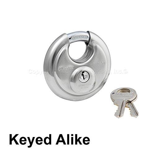 Master Locks - Keyed Alike Stainless Trailer Locks 40KA-1 Pack ()