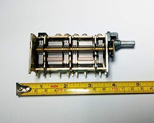 Alps Tuning Gear Variable Capacitor 5 Gang Meshed 40-720pf Homebrew Loop Antenna Tuner qrp Crystal Radio Electronic DIY Project