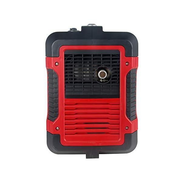 41mUdaBYUfL Matrix Inverter Stromgenerator mit USB, Benzin leise, 4 takt, 2000 Watt, für Camping und Garage