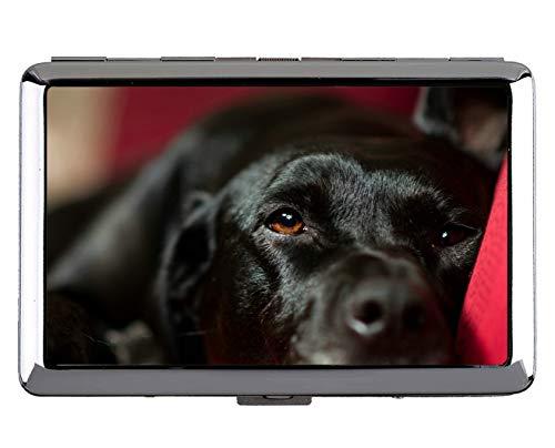 Cigarette Case,Pet Labrador Dog Pocket Holder for 14 - Wallet On Hermes Dog