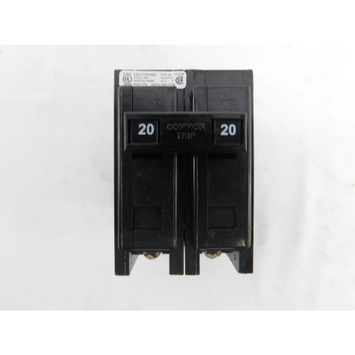 - Cutler Hammer BAB2020 20A 2 Pole Circuit Breaker by Eaton Cutler-Hammer