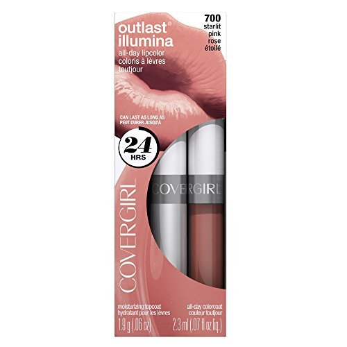 COVERGIRL Outlast Lipcolor Starlit Pink 700, 0.06 Fluid Ounce, 1 Kit by - Cocoa 700