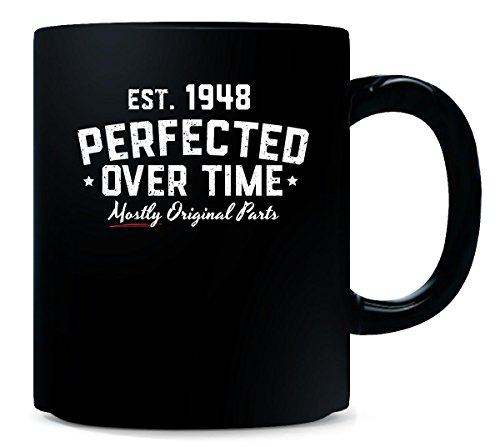 Born in 1948 Perfected Over Time Birthday Age Gift - Mug