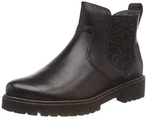 25441 Nero 21 Boots Be Natural donna nero Chelsea 001 SwH5x