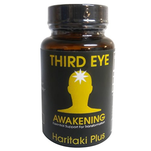 (Third Eye Awakening - Organic Haritaki Capsules- Kailash Herbals-100 capsules- 650 mg each-Terminalia chebula)