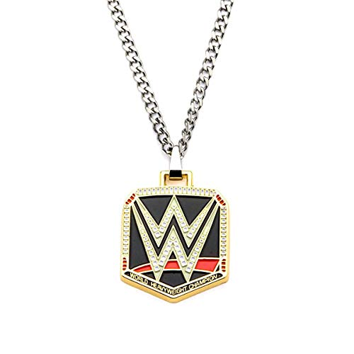 WWE Logo Pendant Stainless Steel Necklace (Wwe Pendant)