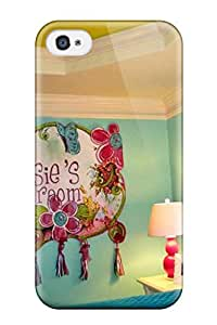 8570524K90252043 Iphone 4/4s Case Bumper Tpu Skin Cover For Blue And Green Girl8217s Bedroom With Tray Ceiling Accessories
