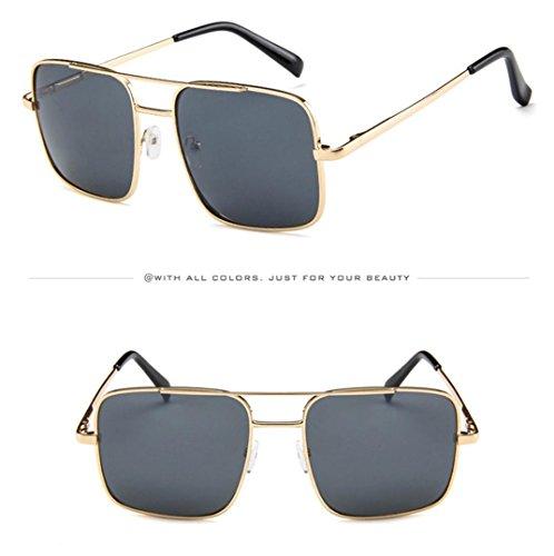 B con Hunpta B de Gafas Unisex Sol Grande Montura gqxxw601I