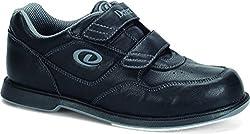 Dexter Men's V Strap Bowling Shoes, Black, 14