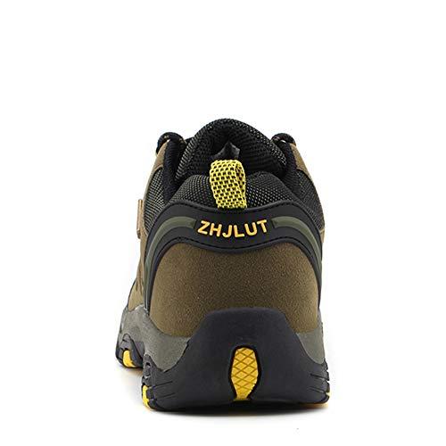 BOTEMAN Chaussures de Randonnée pour Femme et Homme Bottes de Trekking en Plein Air Imperméable Respirant Antidérapant… 4