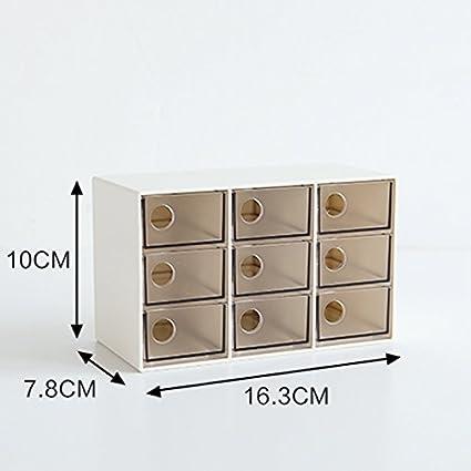 Storage rack.z ZWL Oficina Escritorio Tipo de cajón Caja de Almacenamiento Estanterías Caja de