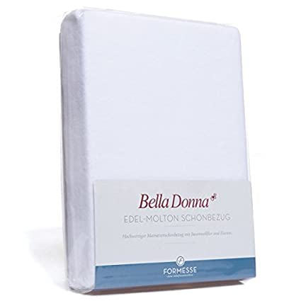 Bella Donna - Protector de colchón para colchones de 140 x 200 cm a 160 x