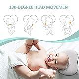 ALWOA Flat Head Baby Pillow, Baby Head Shaping